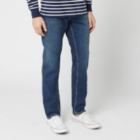 Nudie Jeans Men's Steady Eddie II Straight Jeans - Dark Classic - W36/L34