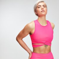 MP Power Womens Crop Top - Super Pink - XL