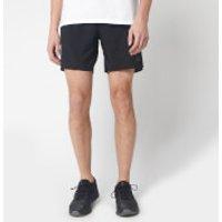 adidas Men's Saturday Shorts 7  - Black - M