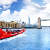 Thames Rockets Speed Boat Voyage for Two - Boat Gifts