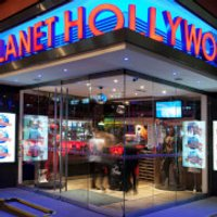 Two Course Meal with Wine for Two at Planet Hollywood, London - London Gifts