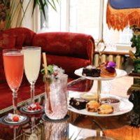 Cream Cakes and Cocktails for Two at Mr Fogg's Gin Parlour, Covent Garden - Cakes Gifts