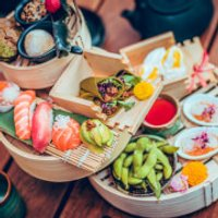 Japanese Inspired Afternoon Tea for Two at Issho, Leeds - Japanese Gifts
