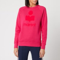Isabel Marant Etoile Women's Milly Sweatshirt - Neon Pink - FR 40/UK 12