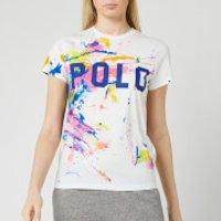 Polo Ralph Lauren Women's Paint Splatter T-Shirt - White - XS