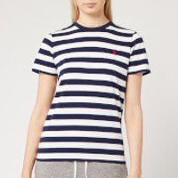 Polo Ralph Lauren Women's Stripe T-Shirt - Cruise Navy/White - XS