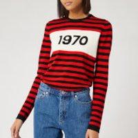Bella Freud Women's 1970 Striped Jumper - Red - S