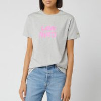 Bella Freud Women's Love Hurts T-Shirt - Grey Marl - M