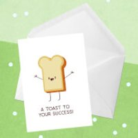A Toast To Your Success! Greetings Card - Giant Card