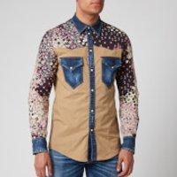 Dsquared2 Men's Floral Shirt - Blue - IT 50/L