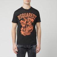 Dsquared2 Men's Engine Print T-Shirt - Black - XL
