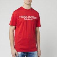 Dsquared2 Men's Milan Logo T-Shirt - Red - XXL