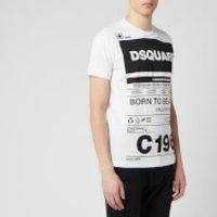 Dsquared2 Men's Born to Fight T-Shirt - White - L