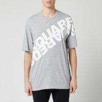 Dsquared2 Men's Angled Mirror Logo T-Shirt - Grey Melange - M