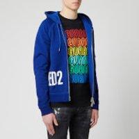 Dsquared2 Men's Side Logo Hoody - Blue - S