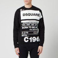Dsquared2 Men's Born to Fight Sweatshirt - Black - M