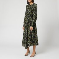 Preen By Thornton Bregazzi Women's Dotted Jaquard Nicola Dress - Heritage Floral - L