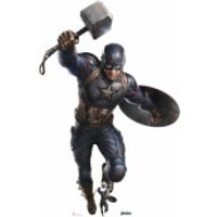 Marvel Captain America Mjolnir Mega Cardboard Cut-Out - Marvel Gifts
