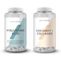 Myvitamins Coconut and Collagen & Hyaluronic Acid Bundle