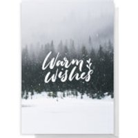 Warm WIshes Greetings Card - Giant Card - Warm Gifts