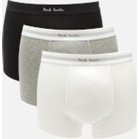 PS by Paul Smith Men's 3 Pack Boxer Briefs - Black/Grey/White - XL