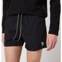 PS Paul Smith Men's Zebra Swim Shorts - Black - S