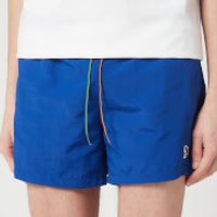 PS Paul Smith Men's Zebra Swim Shorts - Blue - L