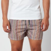 PS by Paul Smith Men's Signature Stripe Swim Shorts - Black - L