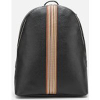 PS Paul Smith Men's Signature Stripe Backpack - Black Pebble