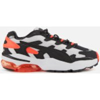 Puma Men's Cell Alien OG Trainers - Puma White/Puma Black - Lava Blast - UK 8 - White