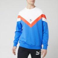 Puma Men's Iconic Mcs Crew Neck Sweatshirt - Palace Blue - XL - Blue