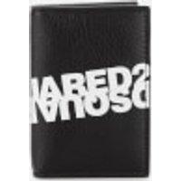 Dsquared2 Men's Mirror Logo Card Case - Nero Bianco