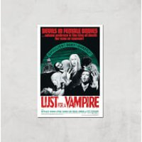 Devils In Female Bodies - Lust For A Vampire Giclee Art Print - A4 - Print Only - Vampire Gifts