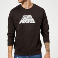 Star Wars The Rise Of Skywalker Trooper Filled Logo Sweatshirt - Black - M - Black