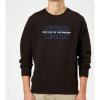 Star Wars The Rise Of Skywalker Logo Sweatshirt - Black - S - Black