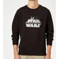 Star Wars The Rise Of Skywalker Rey + Kylo Battle Sweatshirt - Black - L - Black