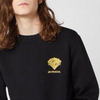 Harry Potter Gryffindor Unisex Embroidered Sweatshirt - Black - XXL - Black - Harry Potter Gifts