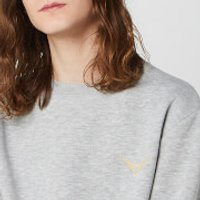Harry Potter Golden Snitch Unisex Embroidered Sweatshirt - Grey - XXL - Grey - Harry Potter Gifts