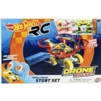 Hot Wheels Bladez Drone Racerz - Triple Threat Stunt Set - Drone Gifts