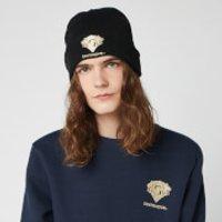 Harry Potter Gryffindor Embroidered Beanie Hat - Black - Beanie Gifts
