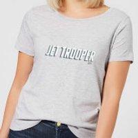 Star Wars The Rise Of Skywalker Jet Trooper Women's T-Shirt - Grey - 4XL - Grey