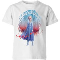 Frozen 2 Find The Way Colour Kids' T-Shirt - White - 7-8 Years - White