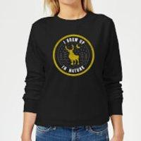 Frozen 2 I Grew Up In Nature Women's Sweatshirt - Black - M - Black