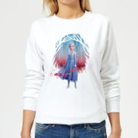 Frozen 2 Find The Way Colour Women's Sweatshirt - White - 5XL - White - Colour Gifts