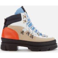 Ganni Women's Sporty Hiking Style Boots - Tannin - UK 6