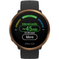 Polar Ignite GPS Sports Watch - M-L - Black/Copper