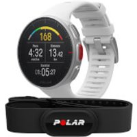 Polar Vantage V GPS Multisport Watch H10 HR Bundle - White