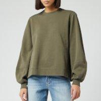 Ganni Women's Isoli Sweater - Kalamata - S