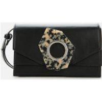 Ganni Women's Structured Shoulder Bag - Black