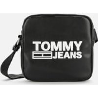 Tommy Jeans Women's Texture Cross Body Bag - Black